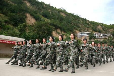 北京企業軍訓